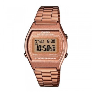 Casio B640WC-5ADF Unisex Vintage Rose Gold Steel Watch B640WC-5A