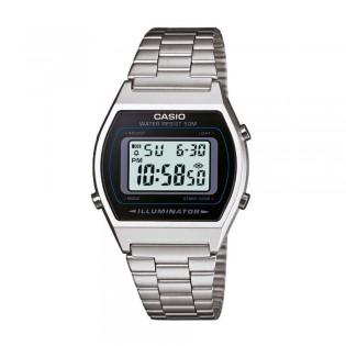 Casio B640WD-1AVDF Unisex Vintage Retro Digital Steel Watch B640WD-1AV