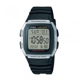 Casio W-96H-1AVDF Unisex Youth Digital Resin Watch W-96H-1AV