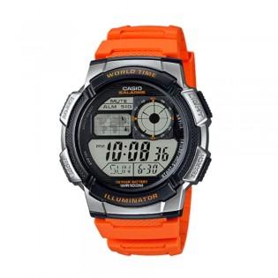 Casio AE-1000W-4BVDF Men's Digital World Time Resin Watch AE-1000W-4BV