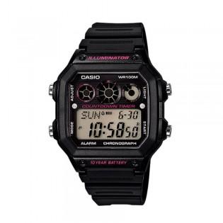 Casio AE-1300WH-1A2VDF Men's Digital Resin Watch AE-1300WH-1A2V