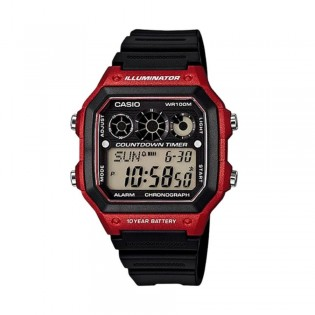 Casio AE-1300WH-4AVDF Men's Digital Resin Watch AE-1300WH-4AV