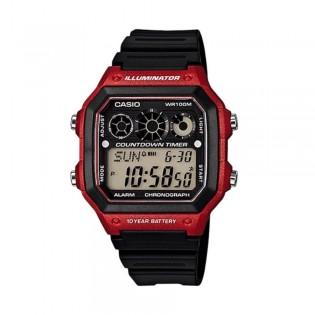 Casio AE-1300WH-4AVDF Men's Digital Resin Watch AE-1300WH-4AV
