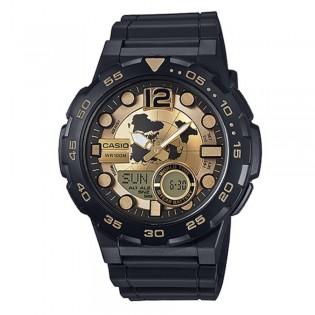 Casio AEQ-100BW-9AVDF Men's Digital Analog Resin Watch AEQ-100BW-9AV