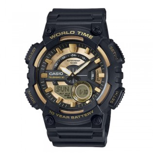 Casio AEQ-110BW-9AVDF Men's Digital Analog Resin Watch AEQ-110BW-9AV