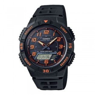 Casio AQ-S800W-1B2VDF Men's Digital Analog Solar Resin Watch AQ-S800W-1B2V