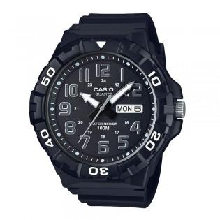 Casio MRW-210H-1AVDF Men's XL Size Analog Resin Watch MRW-210H-1AV