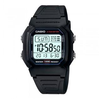 Casio W-800H-1AVDF Unisex Standard Digital Resin Watch W-800H-1AV