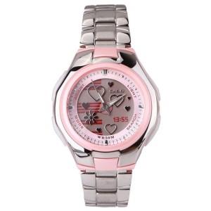 Casio LCF-10D-4AVDR Women's Poptone Digital Analog Steel Watch LCF-10D-4AV