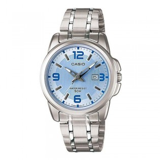 Casio LTP-1314D-2AVDF Women's Analog Date Display Steel Watch LTP-1314D-2AV