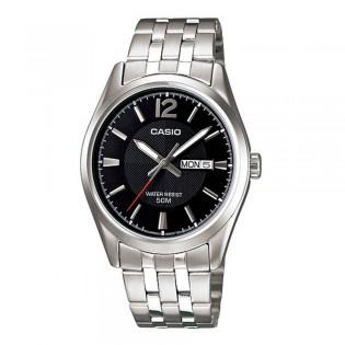 Casio LTP-1335D-1AVDF Women's Analog Day Date Display Steel Watch LTP-1335D-1AV