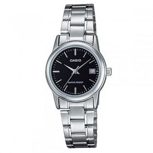 Casio LTP-V002D-1AUDF Women's Analog Date Steel Watch LTP-V002D-1A