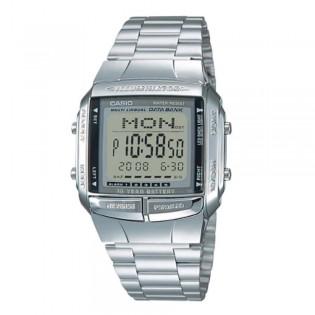 Casio DB-360-1ASDF Unisex Data Bank 10 Years Battery Digital Steel Watch DB-360