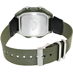 Casio AE-1200WHB-3BVDF Men's Digital World Time Nylon Strap Watch AE-1200WHB-3BV