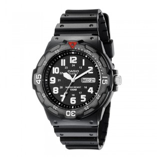 Casio MRW-200H-1BVDF Men's Standard Analog Resin Watch MRW-200H-1BV
