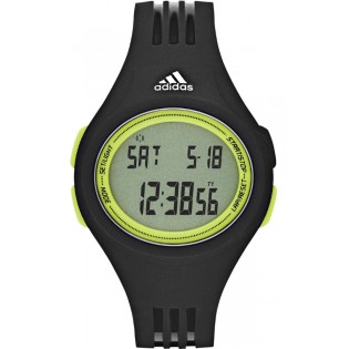 Adidas ADP3177 Unisex Digital Performance Uhara Midsize Black Strap Watch