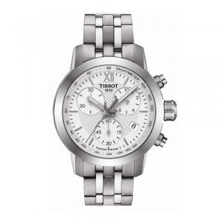 Tissot T055.217.11.018.00 Women's PRC 200 Fencing Chronograph Steel Watch