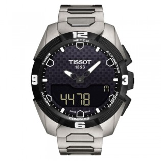 Tissot T091.420.44.051.00 Men's T-Touch Expert Solar Titanium Watch