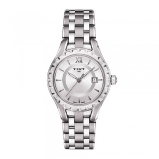 Tissot T072.010.11.118.00 Women's T-Lady Small Size Quartz Steel Watch (Silver)