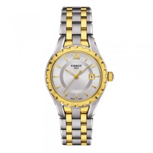 Tissot T072.010.22.038.00 Women's T-Lady Small Size Quartz Steel Watch (Silver)