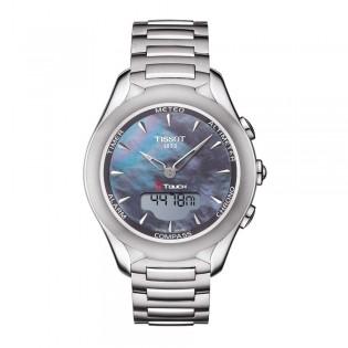 Tissot T075.220.11.101.01 Women's T-Touch Solar Lady Steel Watch