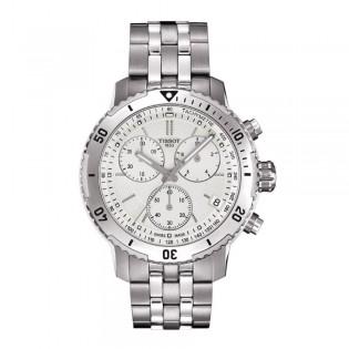 Tissot T067.417.11.031.01 Men's PRS 200 Chronograph Steel Watch
