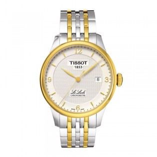 Tissot T006.408.22.037.00 Men's Le Locle COSC Automatic Steel Watch (2 Toned)