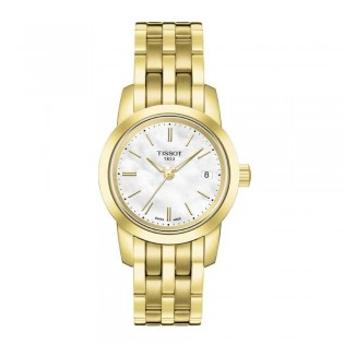 Tissot T033.210.33.111.00 Women's Classic Dream Gold Plated Steel Watch