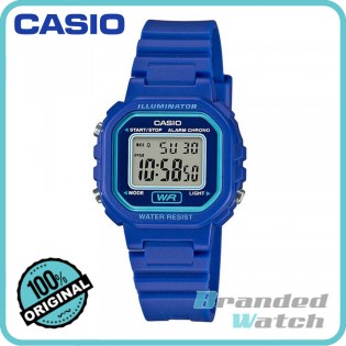 Casio LA-20WH-2ADF Women's Standard Digital Resin Watch LA-20WH-2A