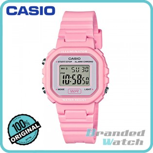Casio LA-20WH-4A1DF Women's Standard Digital Resin Watch LA-20WH-4A1
