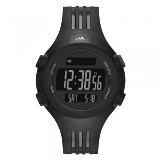 Adidas ADP6086 Men's Mid Sized Questra Black Resin Watch