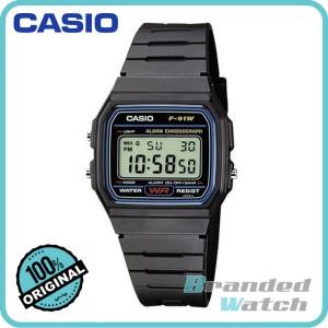 Casio F-91W-1SDG Men's Vintage Series Digital Resin Watch F-91W-1S