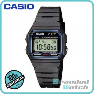 Casio F-91W-1SDG Men's Vintage Series Digital Resin Watch F-91W-1S