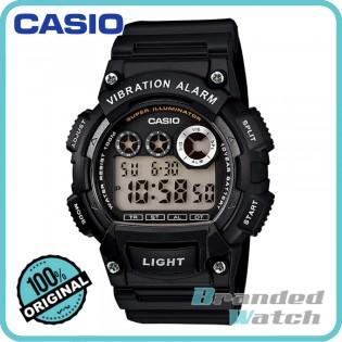 Casio W-735H-1AVDF Men's Digital 10 Years Battery Resin Watch W-735H-1AV
