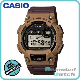 Casio W-735H-5AVDF Men's Digital 10 Years Battery Resin Watch W-735H-5AV