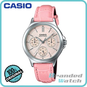 Casio LTP-V300L-4AUDF Women's Multifunction Leather Watch LTP-V300L-4A