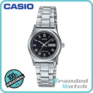 Casio LTP-V006D-1BUDF Women's Quartz Date Date Display Steel Watch LTP-V006D-1B