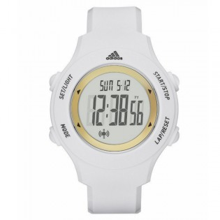 Adidas ADP3213 Unisex YUR Basic Digital White Resin Watch