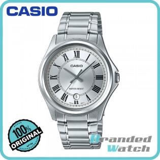 Casio MTP-1400D-7ADF Men's Analog Quartz Date Display Steel Watch MTP-1400D-7A