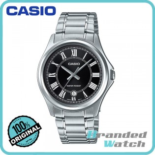 Casio MTP-1400D-1ADF Men's Analog Quartz Date Display Steel Watch MTP-1400D-1A