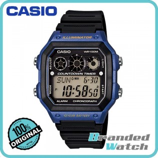Casio AE-1300WH-2AVDF Men's Digital 10 Years Battery Resin Watch AE-1300WH-2A