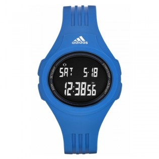 Adidas ADP3160 Unisex Uraha Digital Blue Resin Watch