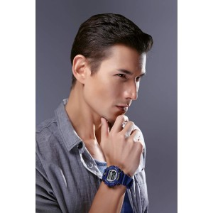Casio G-Shock DW-9052-2VDR Men's Digital Resin Watch DW-9052-2 DW-9052 Anak Katak Biru (watch for men / jam tangan lelaki / men watch)