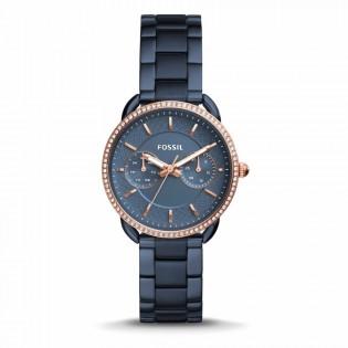Fossil ES4259 Women's Tailor Multifunction Blue Steel Watch