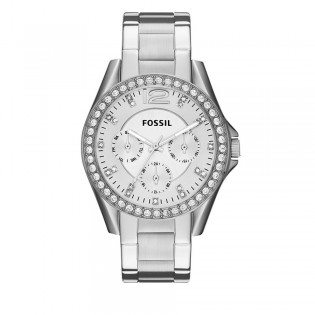 Fossil ES3202 Women's Riley Multifunction Steel Watch
