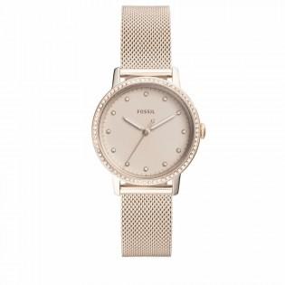 Fossil ES4364 Women's Neely Quartz Pink Mesh Steel Watch