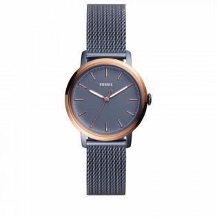 Fossil ES4312 Women's Neely Quartz Blue Stainless Steel Watch