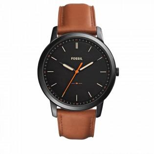 Fossil FS5305 Men's Minimalist Slim Brown Leather Watch