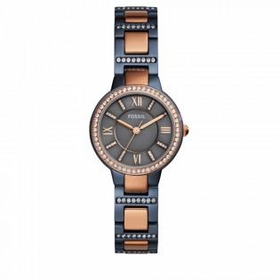 Fossil ES4298 Women's Virginia Two-Tone Steel Watch