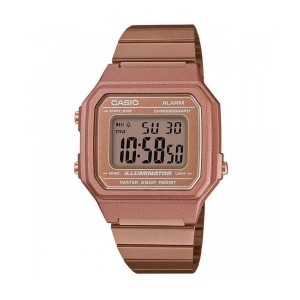 Casio B650WC-5A Unisex Digital Vintage Retro Rose Gold Steel Watch B650WC-5 B650WC